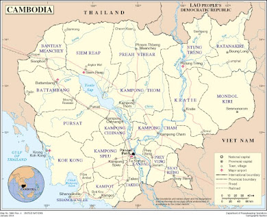 Map of Cambodia