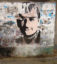 Propaganda política y las pintas en las calles.
