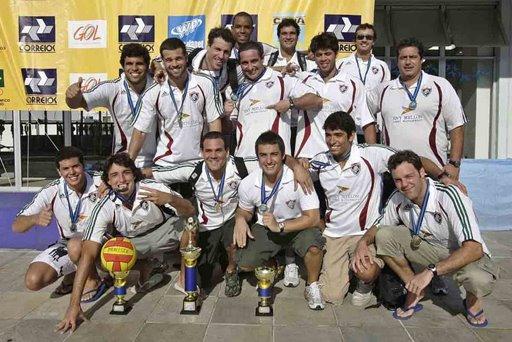 FLUMINENSE TRI-CAMPEÃO DA TAÇA BRASIL 2008