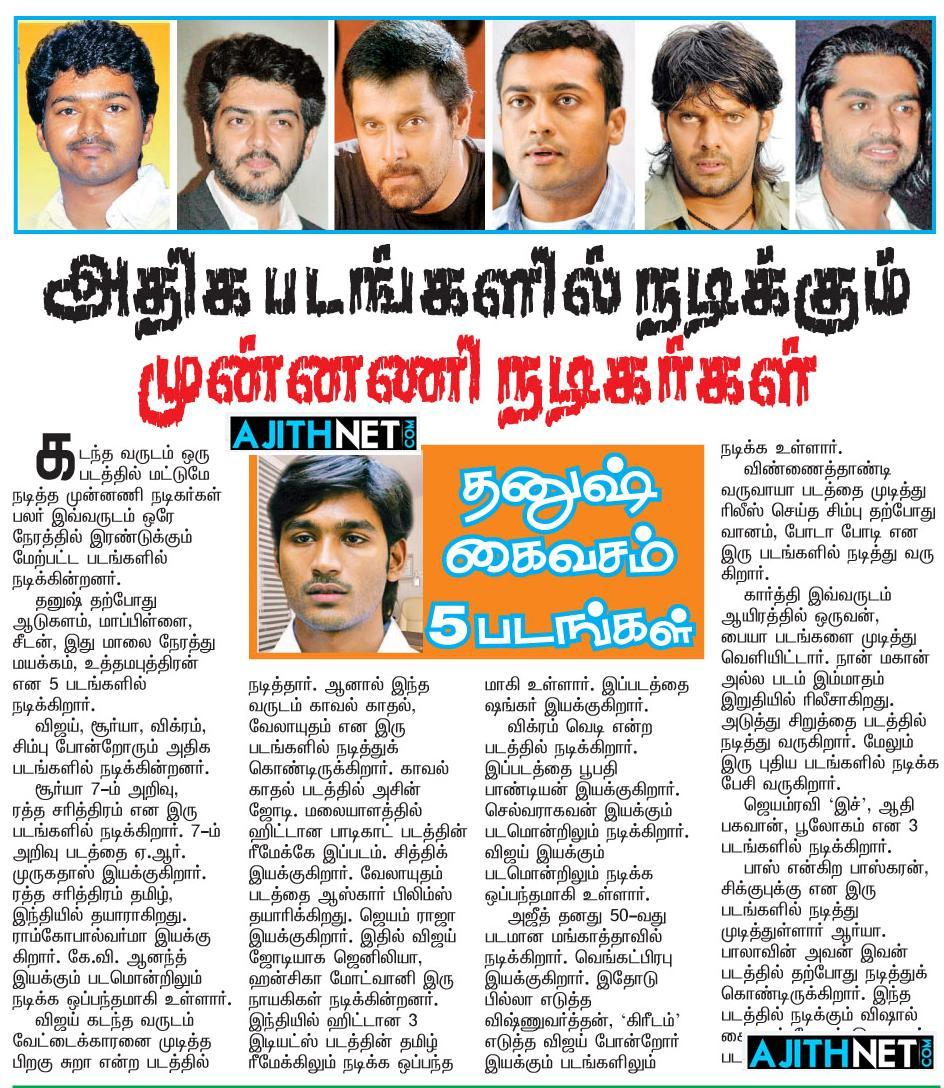 Latest Tamil News Today