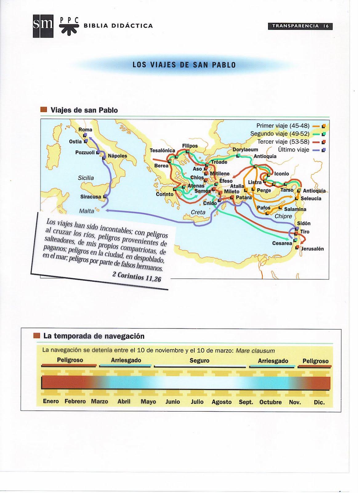 Materiales de religi n cat lica los viajes de san pablo for Cuarto viaje de san pablo