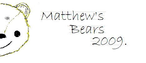 **Matthew's Bears**