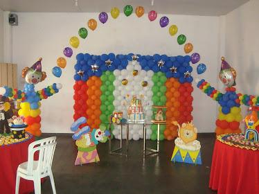 Cenario Circo/Mesa do Bolo