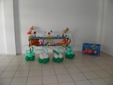 Mesa de doces e Caixa de presentes