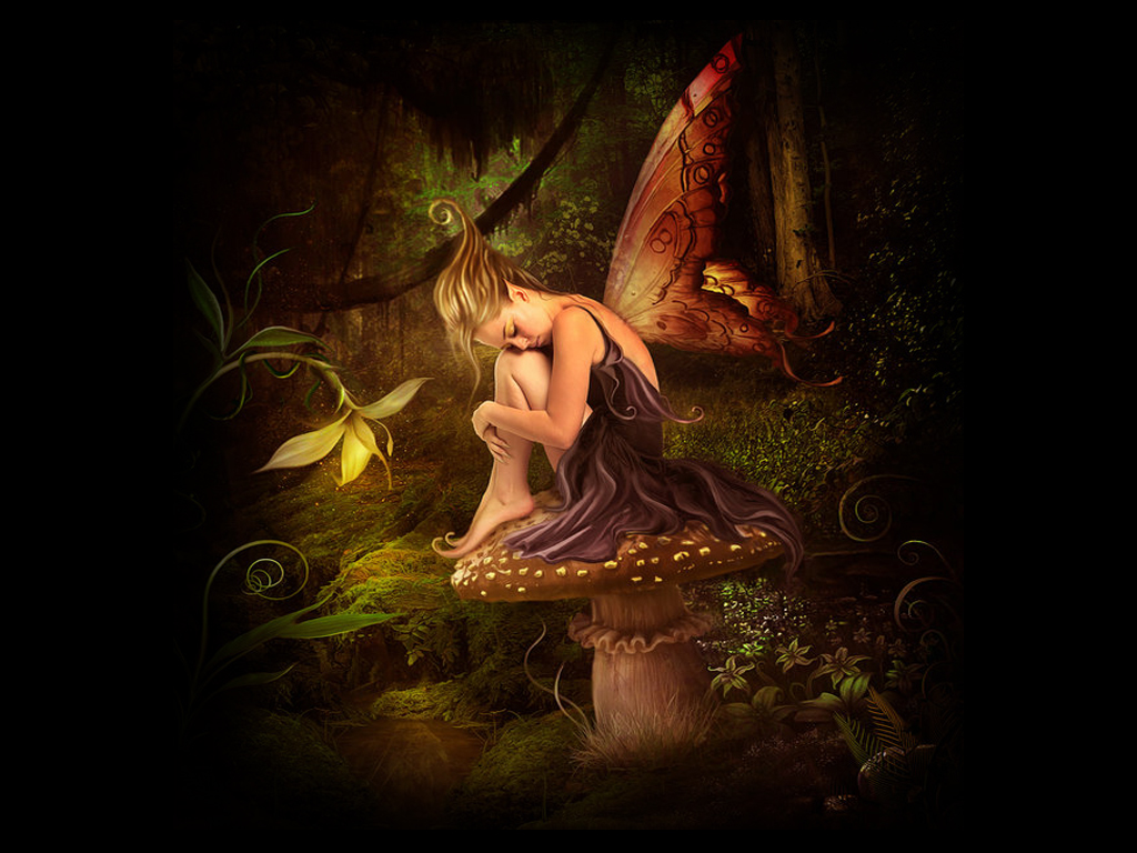 Beauty Night Fairy Wallpaper , here you can see Beauty Night Fairy ...