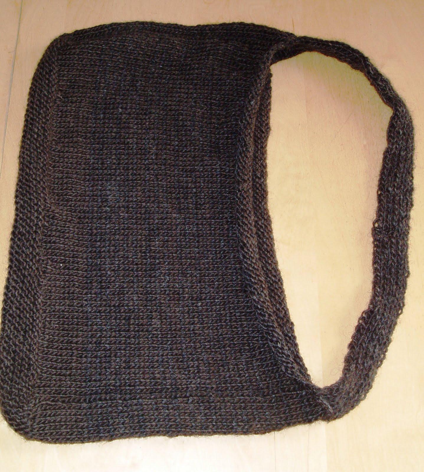 Knitting Pattern Messenger Bag : neverending lists: Knitting - Felted Messenger Bag