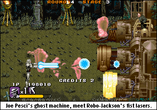 Ghostbustering.
