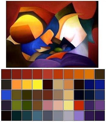 Nenna carol design pintura abstrata - Decorarte pinturas ...