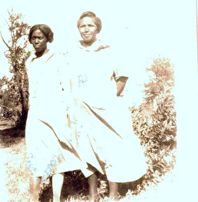 Irene Winstead & Henrietta Winstead johnson mother Hannah Nebo, Ky July 7 1927