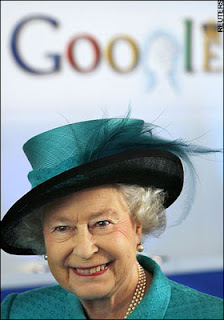 queen elizabeth google