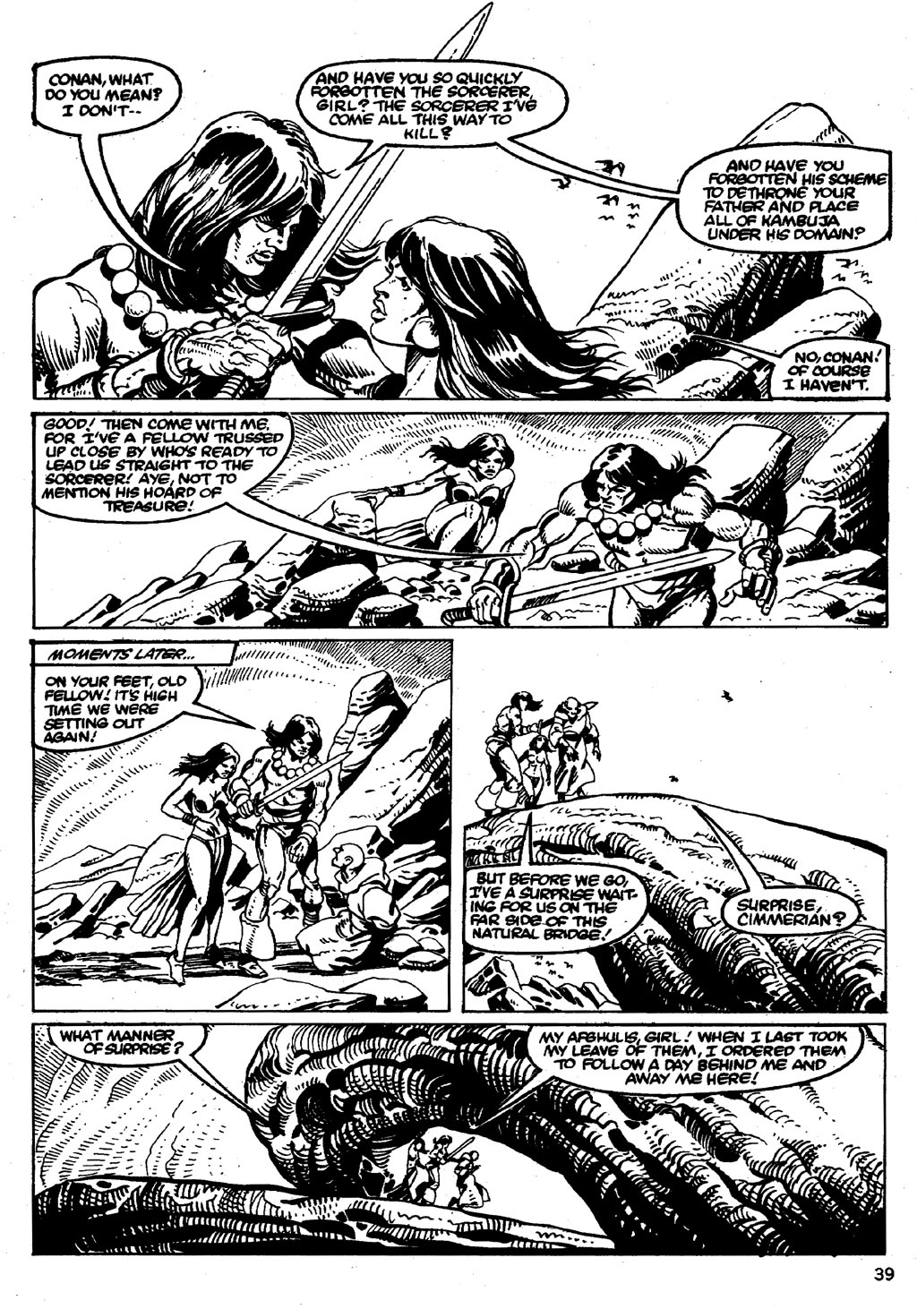 The Savage Sword Of Conan Issue #86 #87 - English 39