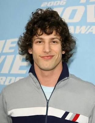 Andy Samberg Jewfro Hairstyles