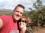 Terry and I in Sedona
