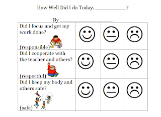 Search results for kindergarten behavior chart smiley for Smiley face behavior chart template