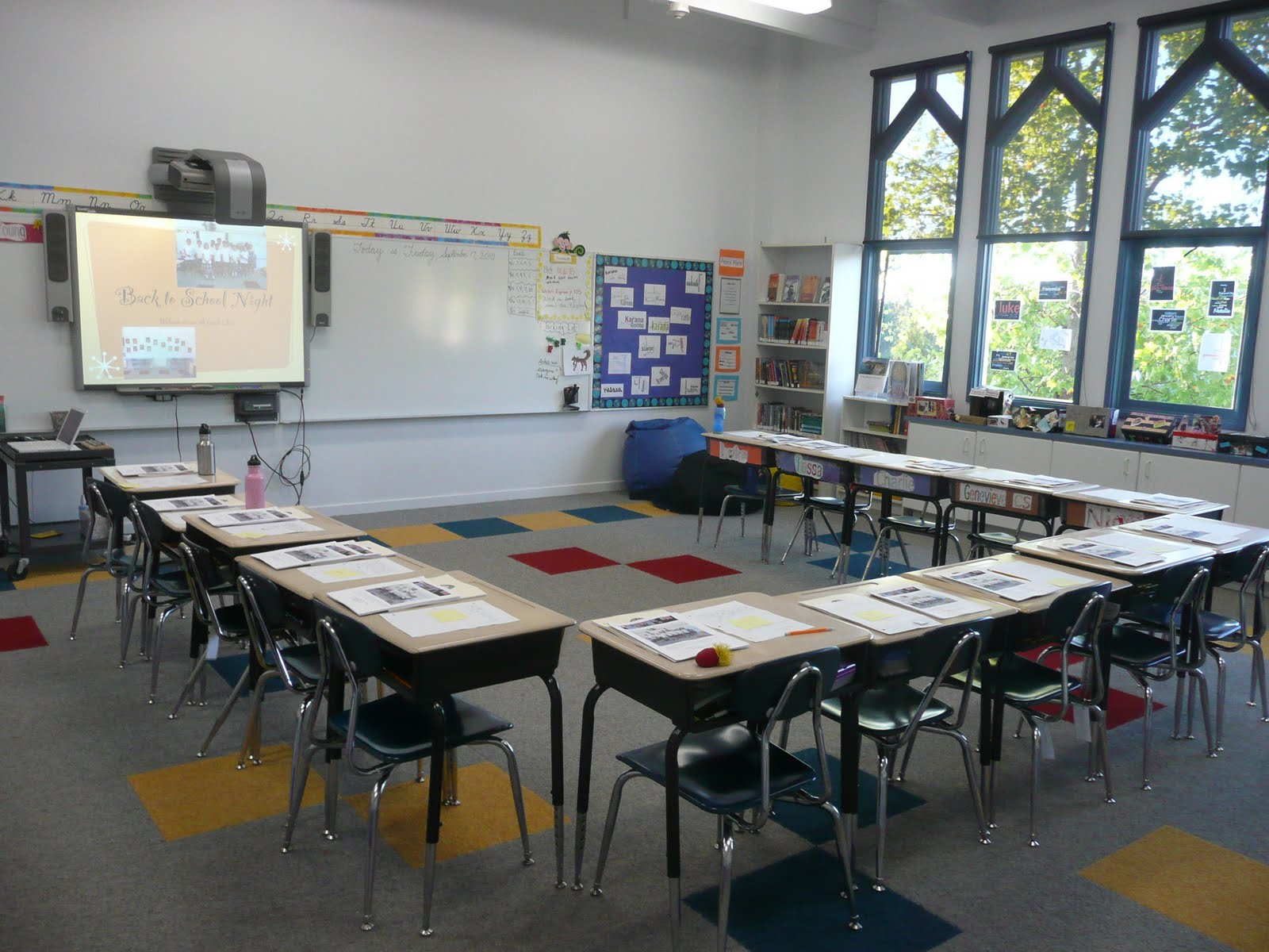 Classroom Setup Ideas ~ Finding ways for all kids to flourish setting up a new