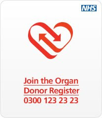 JOIN THE ORGAN DONATION REGISTER