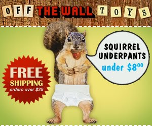 Gag Gifts, Funny Toys - Off The Wall Toys