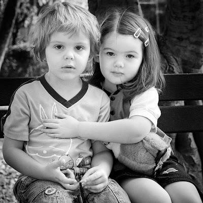 Sweet Valentines Day Children Couples