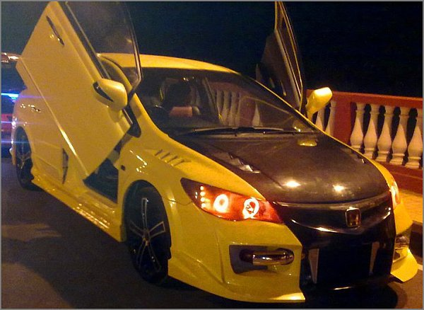 Ah Luxuries Car Some Modified Hondas