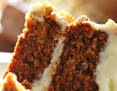 Pumpkin Carrot And Ginger Cake