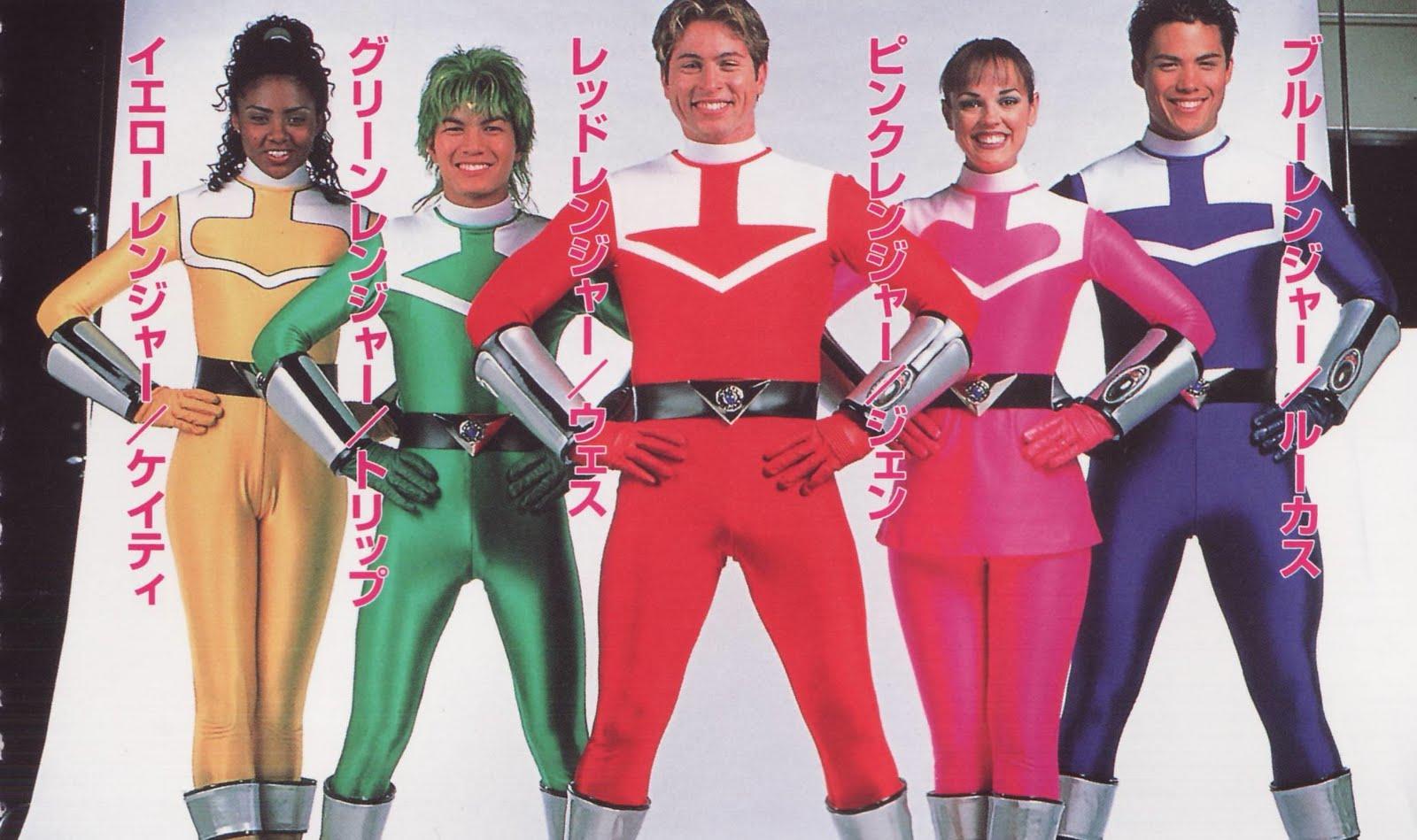Henshin Grid: Helmetless Power Rangers (Actors in Suits)