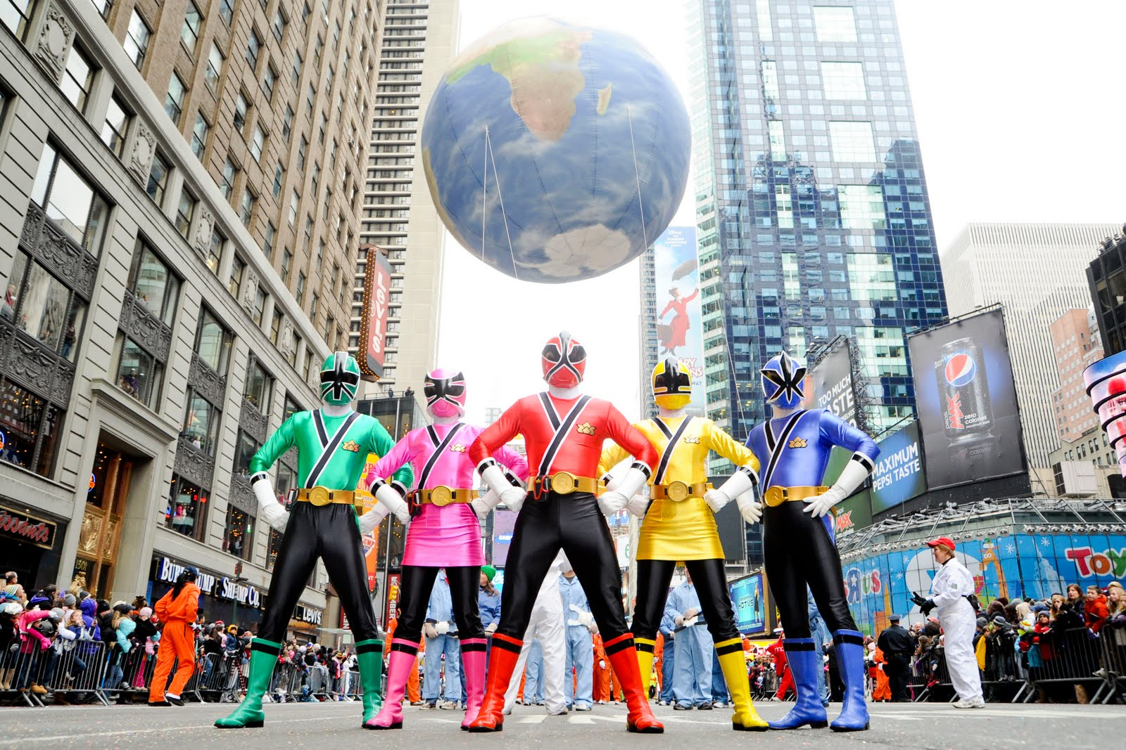 power rangers samirai