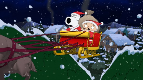 Spanengrish Ramblings: Family Guy Chirstmas Hour Review