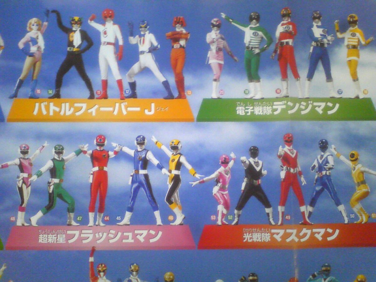 Henshin Grid: More on Gokaiger as past Sentai