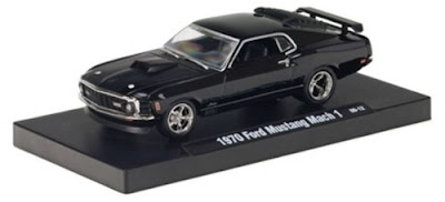 Marks Diecast M2 Machines Drivers Release 2 1970 Mustang Mach 1 Black
