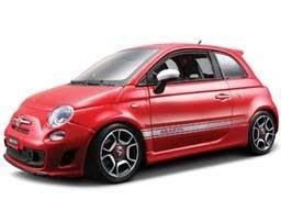 Marks Diecast  Bburago 18-11028 Fiat 500 Abarth Red