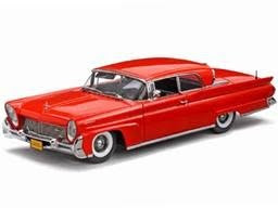 Lincoln Diecast Sunstar Diecast 1958 Lincoln Continental MK III Red