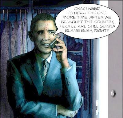 Obama Blames Bush One More Time
