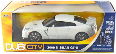 Jada Diecast Dub City No. 92194 2009 Nissan GTR White