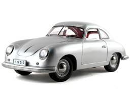Porsche Diecast Signature Models No. 38206 1950 Porsche 356 Coupe Silver