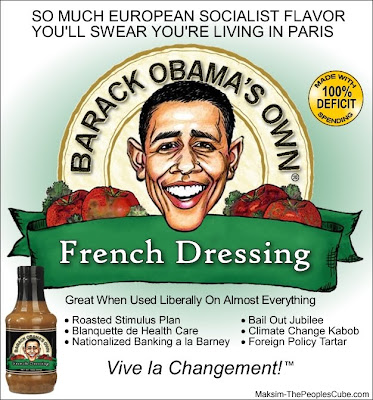 Obama Failure and Socialism Obamas Own Failure French Dressing
