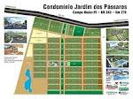 PLANTA DO CONDOMINIO JARDIM DOS PASSAROS