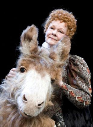 A Midsummer Nights Dream At The Rose Theatre In Kingston Under Artistic Direction Of Peter Hall With Judy Dench Dare I Say It