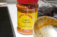 mamas made punainen curryjauhe