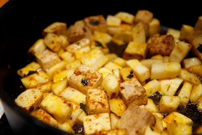 tofua paistettuna