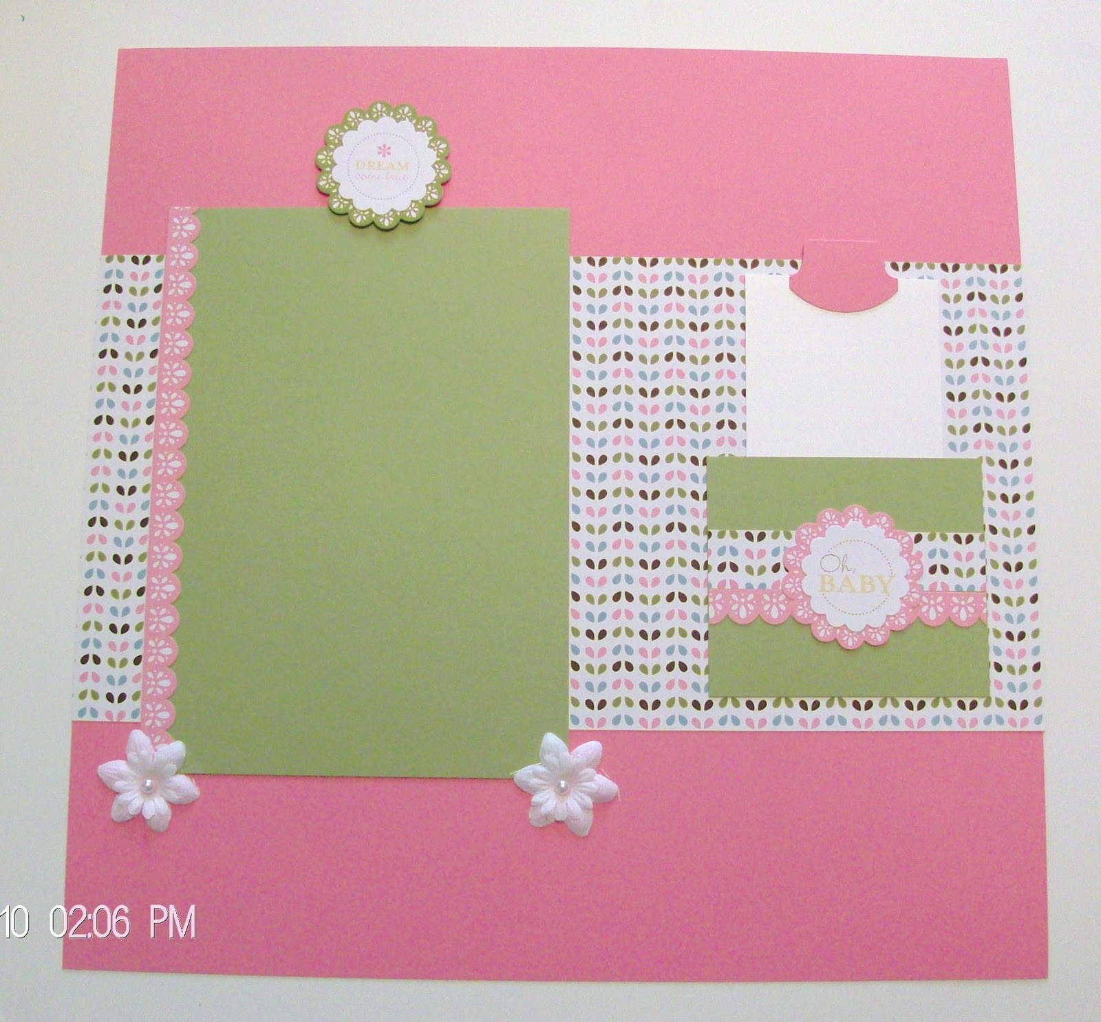 Baby girl scrapbook ideas - The Quick Accents Includes 2 Sheets Of Heavyweight Self Adhesive Die Cuts Which Makes It So Easy To Complete Your Scrapbook Albums