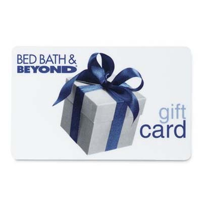 Bed Bath & Beyond® e-Gift Cards. Bed Bath & Beyond makes managing your time easy by carrying everything you need for your home. This mega-store features everything from kitchen appliances to furniture to framed artwork for any particular taste.