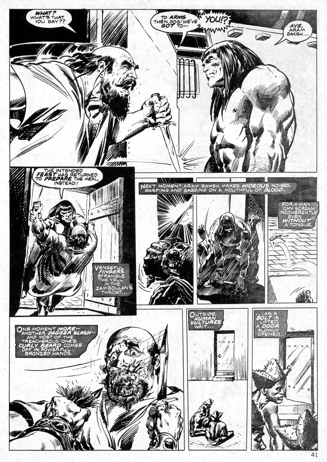 The Savage Sword Of Conan Issue #14 #15 - English 41