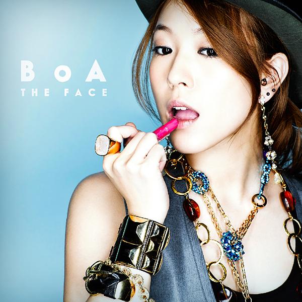 Cover World Mania BoA The Face Fan Made Album Cover
