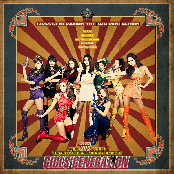 girls generation hoot cover. Girls#39; Generation-Hoot 3rd