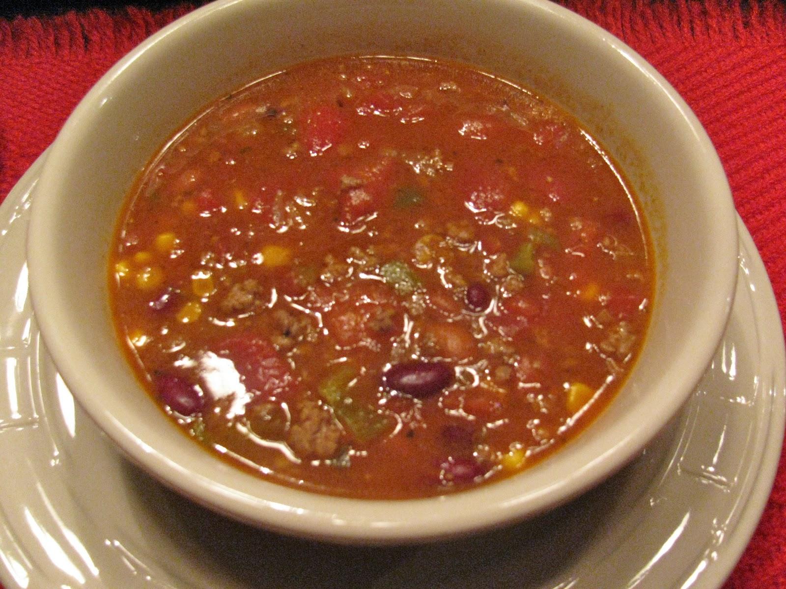 Rita's Recipes: Taco Soup