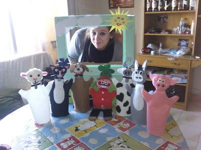 Marionetas de Fieltro.
