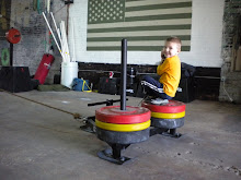 Prowler Ride at CrossFit864
