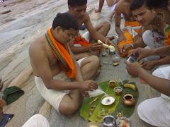 panchamruta Abhishek - Puja