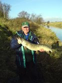 PAC Yorkshire LO Brian Birdsall with a 12lb Pike