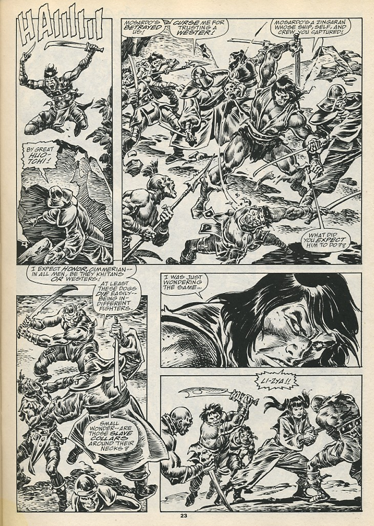 The Savage Sword Of Conan Issue #192 #193 - English 25
